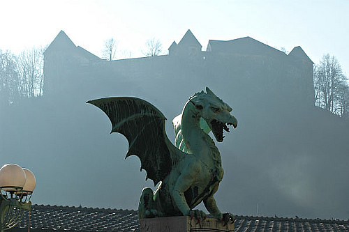 El Dragón, s�mbolo de Liubliana