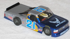 boss95truck-front-rite (smithspeedway) Tags: slotcar racetruck 132scale clearbodies
