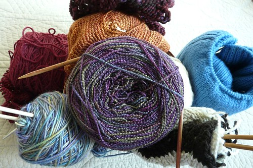 Forgotten knit and crochet projects