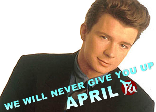 International Rickrolling Month