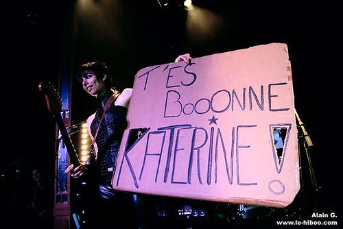 Photos concert : Mademoiselle K @ La Défense (Festival Chorus, 20 ans) | 04 avril 2008