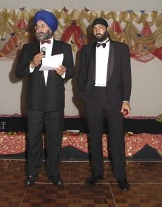 Monty Panesar & Director of ASHT Harbinder Singh