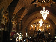 The grand lobby inside the Pantages Theater. (02/27/2008)