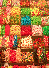 candy galore (marin.tomic) Tags: barcelona city travel urban espaa color travelling yummy spain europe mediterranean colours candy market kodak sweet bcn catalonia explore espana spanish sweets catalunya boqueria spanien gettyimages katalonien catalania