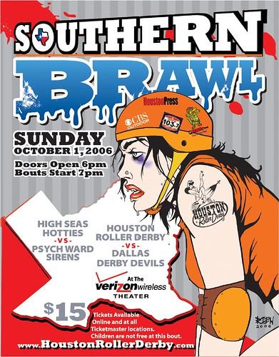 2006 08 Southern Brawl Poster 02