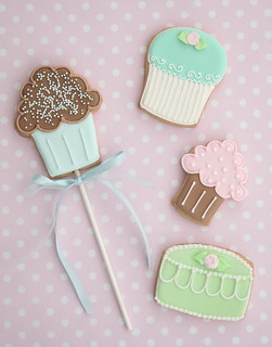Cupcake & cake cookies