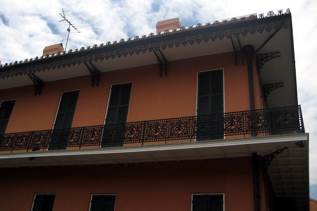 New Orleans - French Quarter: Gauche Villa