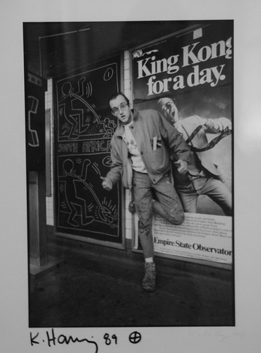 Keith Haring - Image courtesy of National Portrait Gallery