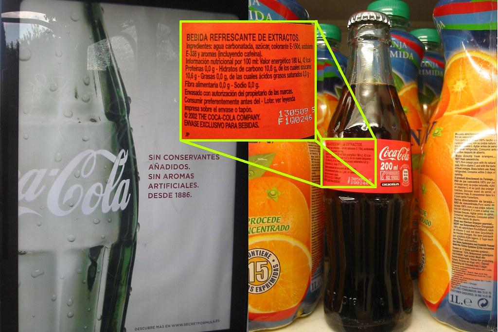 Lo que la publicidad no dice sobre la receta de Coca-Cola