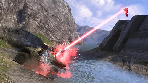 Spartan Laser Firing Spartan Laser Halo 3