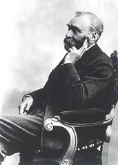 Portrait of Alfred Bernhard Nobel (1833-1896), Chemist