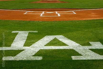 La Dodgers Logo Pics. MLB LA Dodgers logo behind