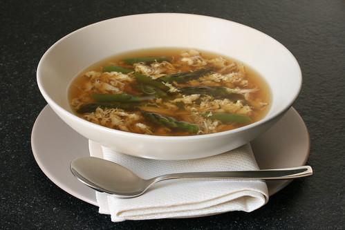 Asparagus Crab Soup (Sup Mang Tay Cua)