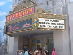 Aladdin is playing at the Hyperion Theater at Disney's California Adventure. (08/26/2006)