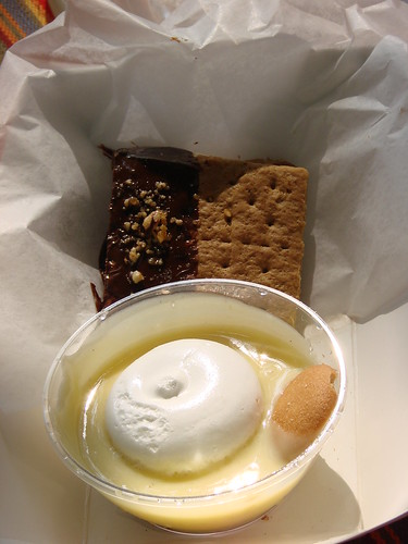 Wildwood's Peanut Butter S'more & Banana Pudding