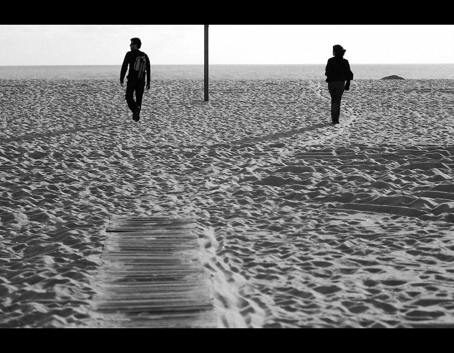 Ele e Ela na Praia da Figueira da Foz
