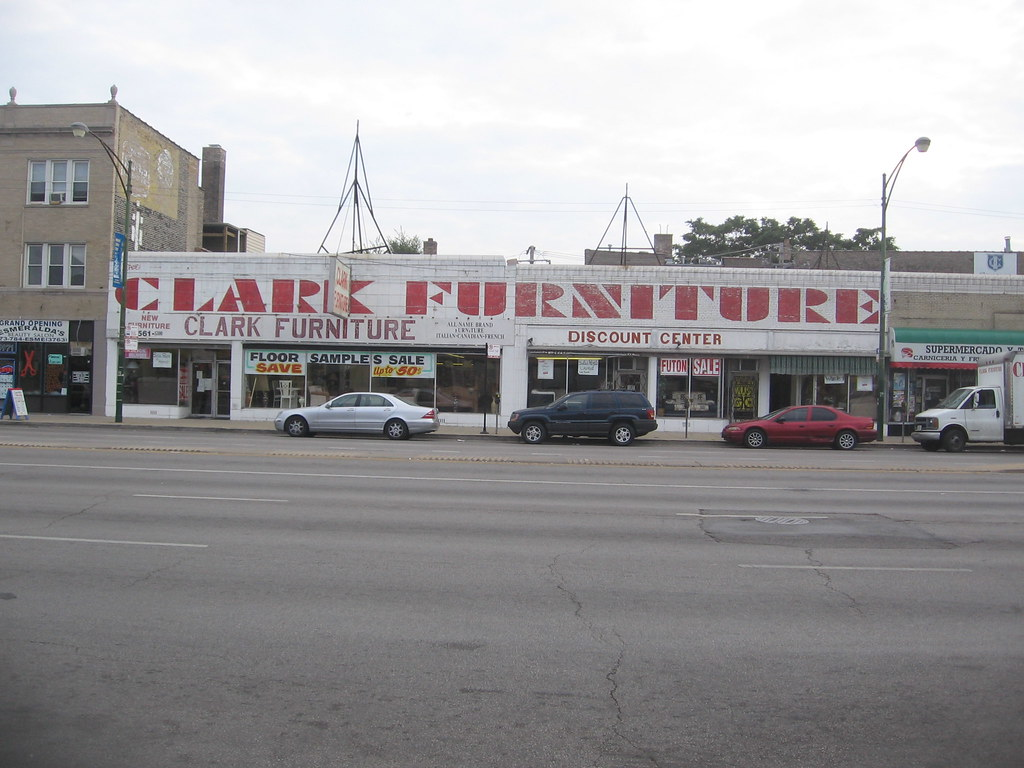 Clark Furniture storefront