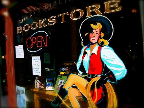 bookstore cowgirl