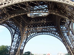 The Underside of the Eiffel Tower