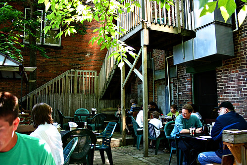 Patio at Day by Day Cafe