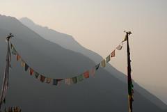Prayer Flags, Himalaya (danunderscoresimmons) Tags: nepal valley prayerflags himalaya annapurna