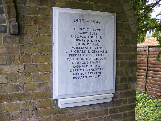 WW2 War memorial, Nazeing