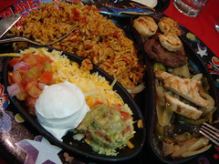 Fajita (SaudiSoul) Tags: chicken restaurant mix rice shrimp steak hollywood planet fajita      tixmix