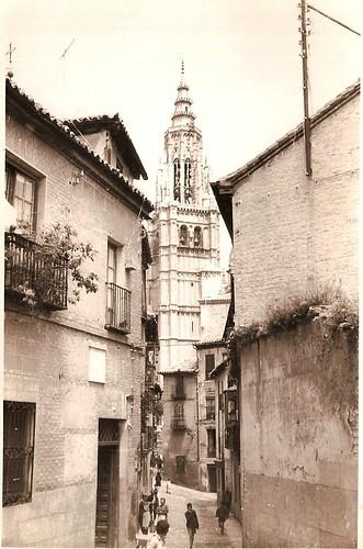Catedral desde Santa Isabel, años 60