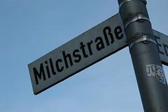 Milchstrae (tnonline) Tags: rheine strasenschild milchstrase