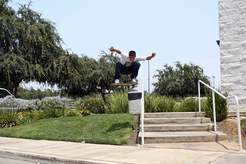 ollie over rail