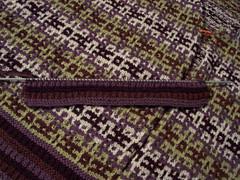 arietta progress2 071608 (tantej) Tags: mosaic cotton cardigan knitty