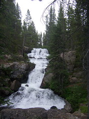 Cascade Falls (mtncanyon) Tags: lake mountains creek colorado eagle indian peak trail crater lone wilderness peaks cascade