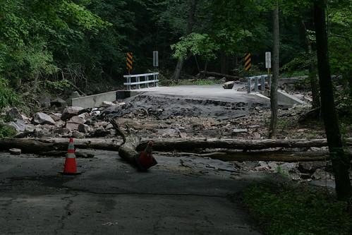 Baxter's Hollow - Recent Flood Damage