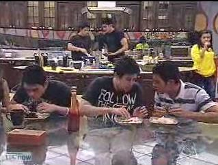 07-20-08 hansen and bugoy eating
