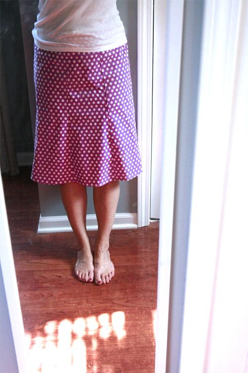 """""""Cute Skirts"""", paneled skirt pattern"""