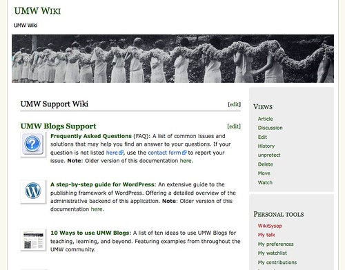 Image of UMW Blogs Documentation