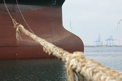 Bow (hamineo) Tags: port boat marseille ship vessel bow anchor fos tanker draft