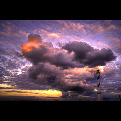 Weather Report (Dimitri Depaepe) Tags: light sunset lighthouse clouds oostende hdr ostend themoulinrouge favola firstquality abigfave aplusphoto infinestyle bratanesque empyreanland theunforgettablepictures thetowerofpriapus