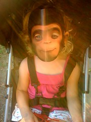 creepy monkey girl