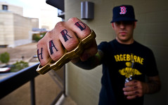 Hard As F*ck (Chadwise) Tags: tattoo fingers hard brass knuckles brassknuckles hardasfuck