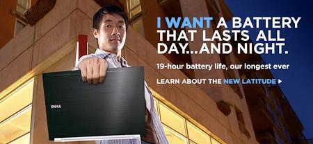 imagen de la nueva publicidad de Dell