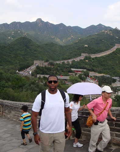 Icon CEO Elijah Shaw on the Great Wall of China