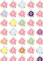sun_flower_pattern1