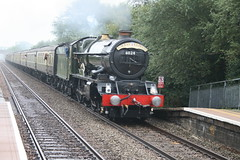 6024 King Edward I Torbay Express (James F Clay) Tags: station track br rail railway steam gwr worle uksteam torbayexpress