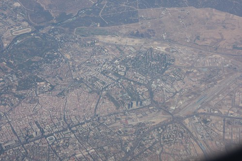 Madrid from the plane, Pedro Lozano