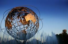Under the blue sky (Lazyousuf) Tags: world nyc globe flushingmeadows tennis 2008 usopen explored explore115