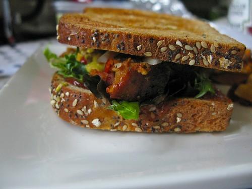 dreamed of a turkey meatloaf sandwich...then made it!
