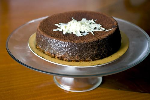 Cake plattered