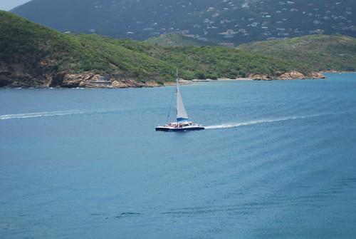 La hermosa isla de St. Thomas en las Islas Vírgenes