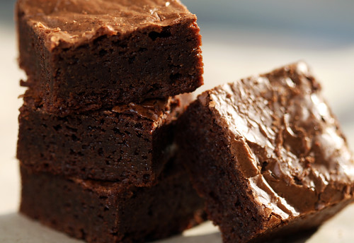 Chocolate & frangelico brownies